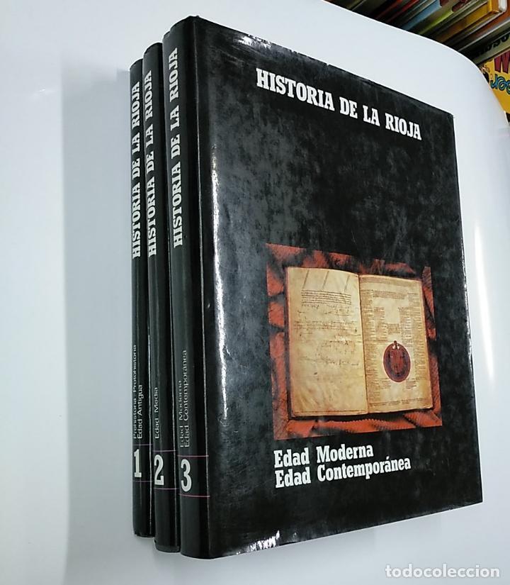 Enciclopedias de segunda mano: HISTORIA DE LA RIOJA. 3 TOMOS VOLUMENES. COLECCION COMPLETA. Arm09 - Foto 8 - 140257874