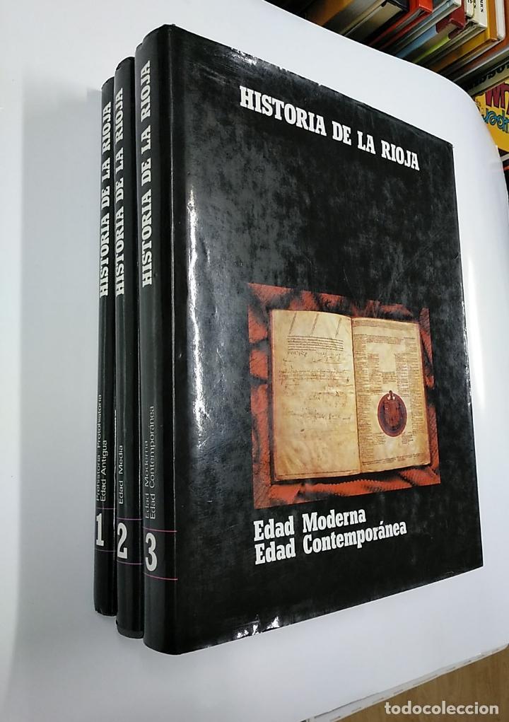 Enciclopedias de segunda mano: HISTORIA DE LA RIOJA. 3 TOMOS VOLUMENES. COLECCION COMPLETA. Arm09 - Foto 9 - 140257874