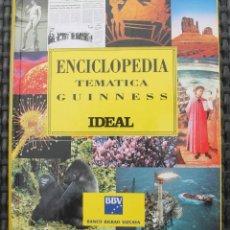 Enciclopedias de segunda mano: ENCICLOPEDIA TEMATICA GUINNESS DIARIO IDEAL BBVA TAPAS DURA 29X24 CM 543 PAGINAS 1823 GR. Lote 140380678