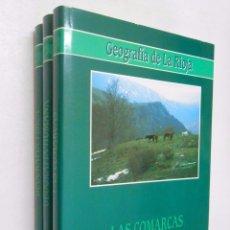 Enciclopedias de segunda mano: GEOGRAFIA DE LA RIOJA. VV.AA. 3 VOLUMENES. TOMOS. TDK356. Lote 140388730