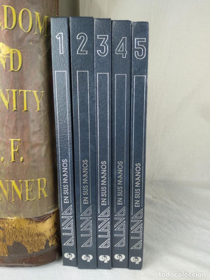 ÁLAVA EN SUS MANOS - CAJA PROVINCIAL DE ÁLAVA - 5 TOMOS - HERACLIO FOURNIER - VITORIA - 1983 - (Libros de Segunda Mano - Enciclopedias)