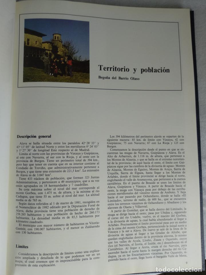 Enciclopedias de segunda mano: ÁLAVA EN SUS MANOS - CAJA PROVINCIAL DE ÁLAVA - 5 TOMOS - HERACLIO FOURNIER - VITORIA - 1983 - - Foto 4 - 140739782