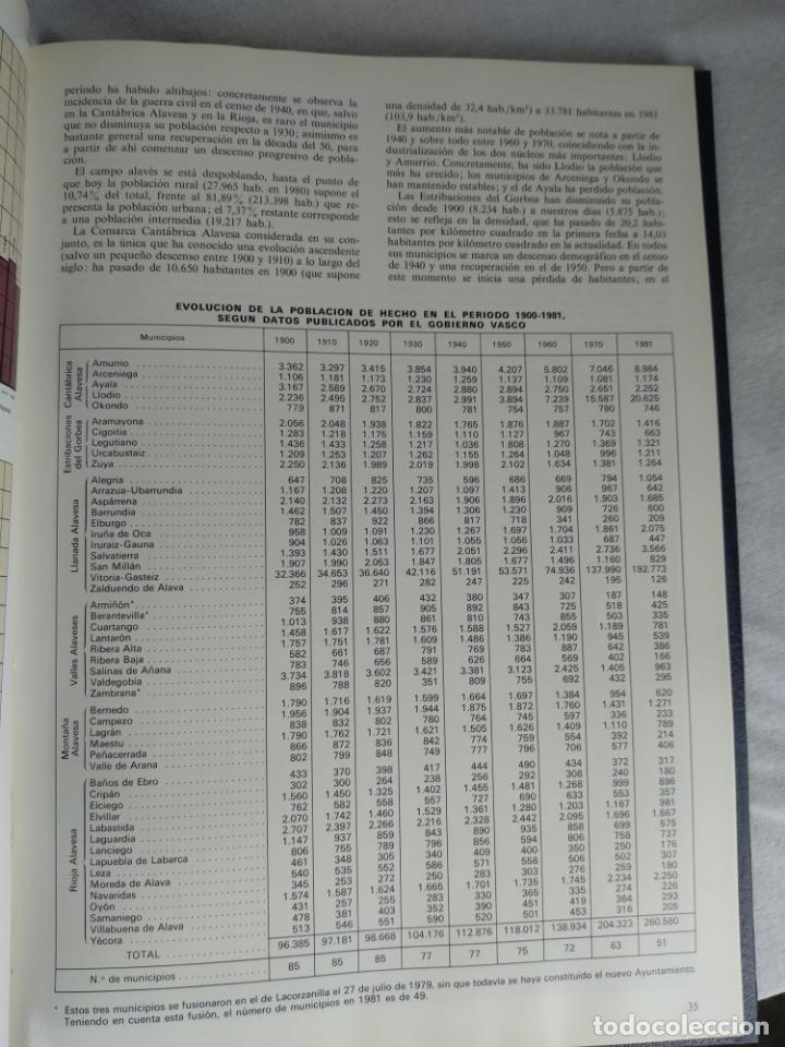 Enciclopedias de segunda mano: ÁLAVA EN SUS MANOS - CAJA PROVINCIAL DE ÁLAVA - 5 TOMOS - HERACLIO FOURNIER - VITORIA - 1983 - - Foto 5 - 140739782