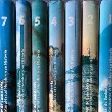 Livros em segunda mão: ITSASOA. EL MAR DE EUSKALERRIA. LA NATURALEZA, EL HOMBRE Y SU HISTORIA. OBRA COMPLETA: 7 TOMOS.. Lote 215966035