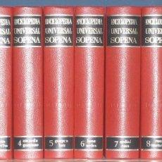 Enciclopedias de segunda mano: ENCICLOPEDIA UNIVERSAL SOPENA - 10 TOMOS. Lote 141549210