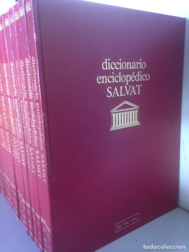 Enciclopedias de segunda mano: LOTE DICCIONARIO ENCICLOPÉDICO SALVAT - Foto 2 - 141727970