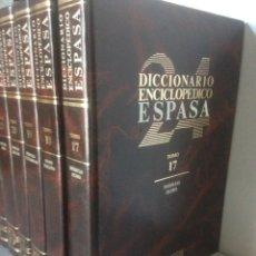 Enciclopedias de segunda mano: LOTE DICCIONARIO ENCICLOPÉDICO ESPASA. Lote 141728293