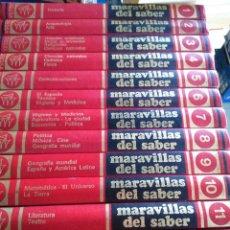 Enciclopedias de segunda mano: MARAVILLAS DEL SABER -- COMPLETA 12 TOMOS -- 1978 -- . Lote 142029274