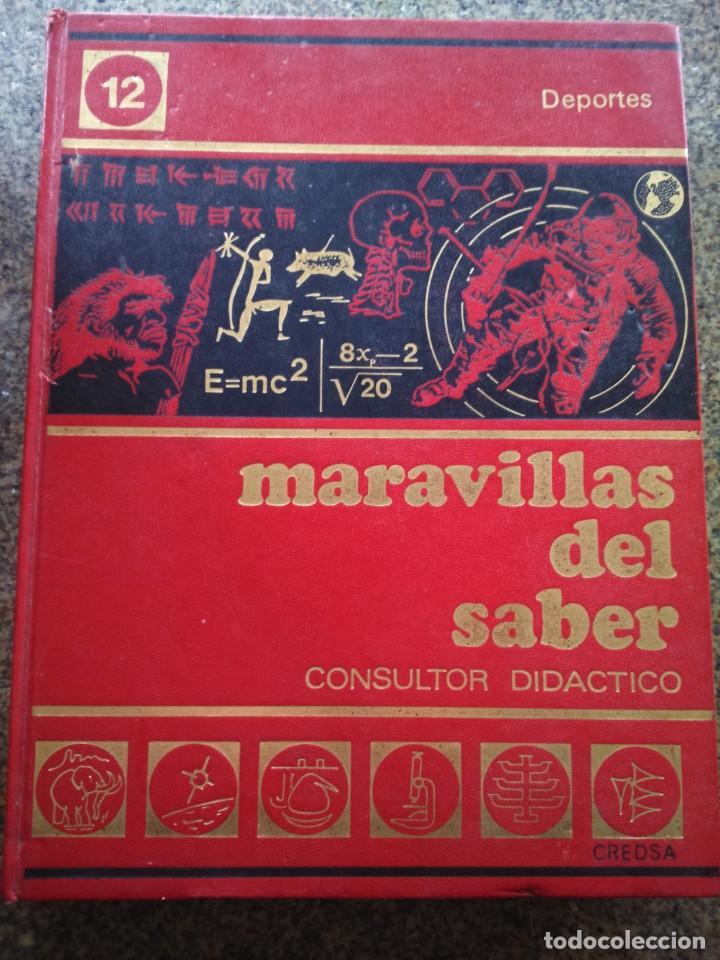 Enciclopedias de segunda mano: MARAVILLAS DEL SABER -- COMPLETA 12 TOMOS -- 1978 -- - Foto 2 - 142029274