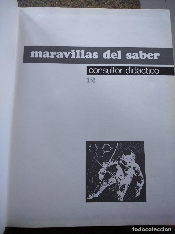 Enciclopedias de segunda mano: MARAVILLAS DEL SABER -- COMPLETA 12 TOMOS -- 1978 -- - Foto 4 - 142029274