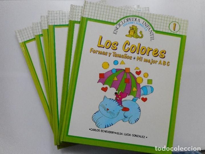 CARLOS ECHEVERRY, ELSA LUCIA GONZÁLEZ ENCICLOPEDIA INFANTIL Y91290 (Libros de Segunda Mano - Enciclopedias)