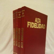 Enciclopedias de segunda mano: ENCICLOPEDIA ALTA FIDELIDAD LOS 4 TOMOS. Lote 143123914
