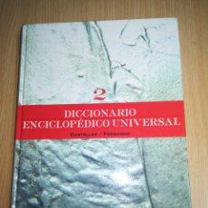 Enciclopedias de segunda mano: DICCIONARIO ENCICLOPÉDICO ESPASA TOMO 2. Lote 143704458