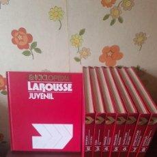 Enciclopedias de segunda mano: ENCICLOPEDIA LAROUSSE JUVENIL. Lote 143999746
