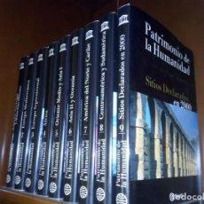 Enciclopedias de segunda mano: (9004) ENCICLOPEDIA PATRIMONIO DE LA HUMANIDAD COMPLETA+GUÍAS DE VIAJE..2000. Lote 144922134