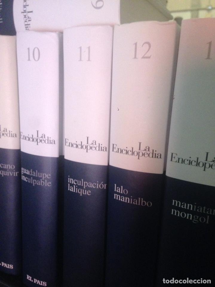 20 TOMOS DEL DICCIONARIO LA ENCICLOPEDIA DE EL PAÍS, COMPLETO (Libros de Segunda Mano - Enciclopedias)