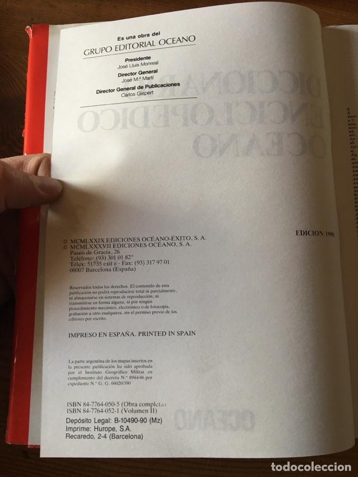 Enciclopedias de segunda mano: Diccionario enciclopédico océano 3 tomos - edición 1990 - Ilustrado - Foto 2 - 146261717