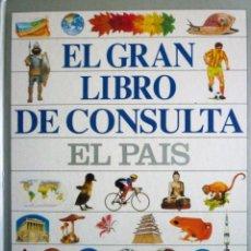 Enciclopedias de segunda mano: GRAN LIBRO DE CONSULTA EDITA EL PAÍS ALTEA . Lote 146484230