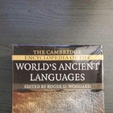 Enciclopedias de segunda mano: THE CAMBRIDGE ENCYCLOPEDIA OF THE WORLD'S ANCIENT LANGUAGES. Lote 146542682