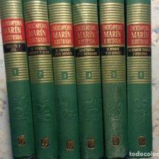 Enciclopedias de segunda mano: ENCICLOPEDIA MARÍN ILUSTRADA, 6 TOMOS, 1961 1ª EDICIÓN. COMPLETA. Lote 147284452