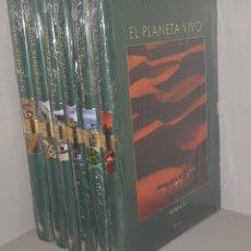 Enciclopedias de segunda mano: EL PLANETA VIVO - 6 TOMOS - NUEVOS PRECINTADOS - ARM03. Lote 147243050