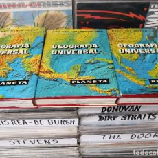 Enciclopedias de segunda mano: GEOGRAFIA UNIVERSAL LAROUSSE, EDITORIAL PLANETA 1.966 - 3 TOMOS. Lote 147433354