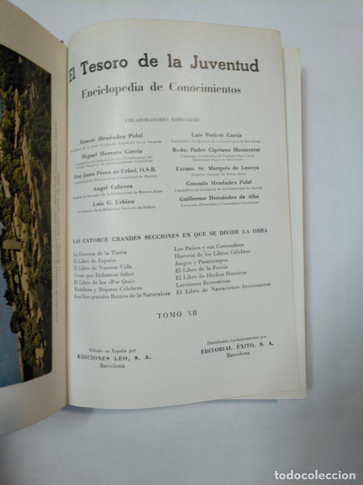 Enciclopedias de segunda mano: EL TESORO DE LA JUVENTUD. TOMO VII. ENCICLOPEDIA DE CONOCMIENTOS. TOMO 7. TDK359 - Foto 4 - 147503106