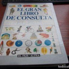 Enciclopedias de segunda mano: EL GRAN LIBRO DE CONSULTA EL PAÍS/ALTEA 1.994. Lote 147579458