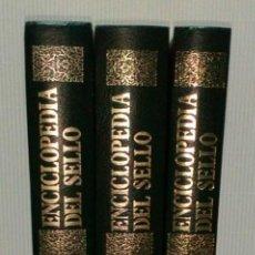 Enciclopedias de segunda mano: ENCICLOPEDIA DEL SELLO. COLECCIÓN COMPLETA EN 3 TOMOS.. Lote 147708586