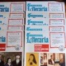 Enciclopedias de segunda mano: LA TIJERA LITERARIA 18 PRIMEROS FASCÍCULOS. ENCICLOPEDIA DE LAS MÁS FAMOSAS OBRAS.. Lote 148143186