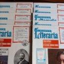 Enciclopedias de segunda mano: LA TIJERA LITERARIA: 10 FASCÍCULOS DEL 74 AL 83. ENCICLOPEDIA DE LAS MÁS FAMOSAS OBRAS. Lote 148143542