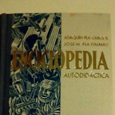 Enciclopedias de segunda mano: ENCICLOPEDIA AUTODIDACTA PER JOAQUIM PLA CARGOL I JOSE M. PLA DALMAU 1972. Lote 148186910