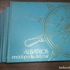 Enciclopedias de segunda mano: ALBATROS. ENCICLOPEDIA DEL MAR. OBRA COMPLETA EN CUATRO TOMOS. 1980.. Lote 202532921