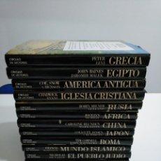 Enciclopedias de segunda mano: ATLAS CULTURALES DEL MUNDO. CIRCULO DE LECTORES. 12 TOMOS VOLUMENES. TDKLT. Lote 148909398