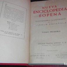 Enciclopedias de segunda mano: NUEVA ENCICLOPEDIA SOPENA. DICCIONARIO ILUSTRADO DE LA LENGUA ESPAÑOLA. 5 TOMOS. Lote 149098214