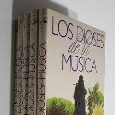 Enciclopedias de segunda mano: LOS DIOSES DE LA MUSICA 5 TOMOS -. PLANETA. - COMPLETA - ARM05. Lote 149246886