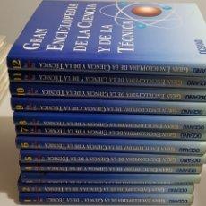 Enciclopedias de segunda mano: GRAN ENCICLOPEDIA DE LA CIENCIA Y DE LA TECNICA - OCEANO - 12 TOMOS - COMPLETA - ARM06. Lote 149361852