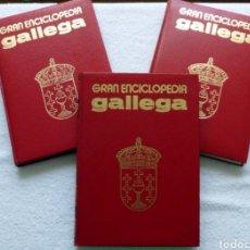 Enciclopedias de segunda mano: GRAN ENCICLOPEDIA GALLEGA (36TOMOS). Lote 149709952