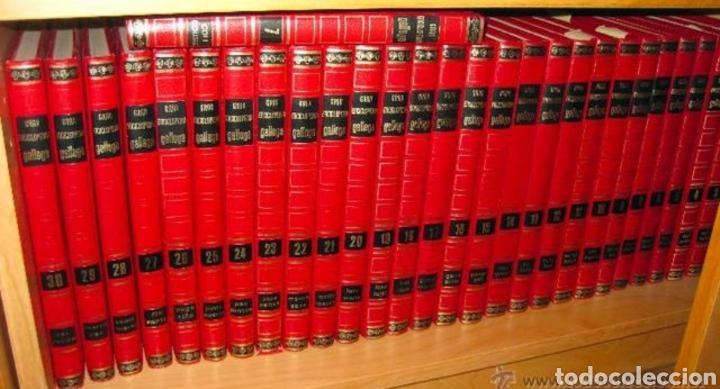 Enciclopedias de segunda mano: Gran enciclopedia gallega (36tomos) - Foto 2 - 149709952
