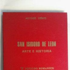 Enciclopedias de segunda mano: SAN ISIDORO DE LEÓN ARTE E HISTORIA. Lote 150700332