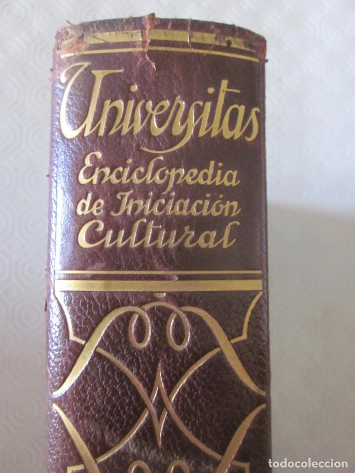 Enciclopedias de segunda mano: UNIVERSITAS ENCICLOPEDIA DE INICIACIÓN CULTURA 20 TOMOS 1946 - Foto 8 - 151470618