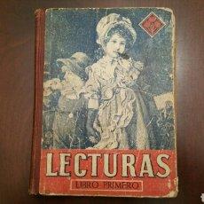 Enciclopedias de segunda mano: LIBRO ESCOLAR DE LECTURAS. LIBRO 1°. EDIT. LUIS VIVES 1943.. Lote 151633510