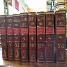 Enciclopedias de segunda mano: GALICIA ARTE. HÉRCULES EDICIONES S.A. FRANCISCO RODRÍGUEZ IGLESIAS. Lote 152135670