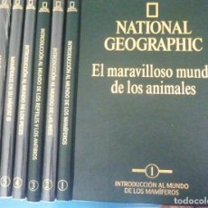 Enciclopedias de segunda mano: LOTE 7 EL MARAVILLOSO MUNDO DE LOS ANIMALES NATIONAL GEOGRAPHIC IMPECABLE. RBA. Lote 153225710