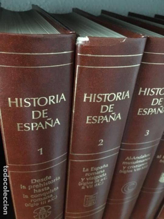 Enciclopedias de segunda mano: HISTORIA DE ESPAÑA. OBRA EN 12 TOMOS DE EDITORIAL PLANETA, 1990. - Foto 7 - 153789714