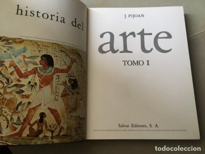 Enciclopedias de segunda mano: HISTORIA DEL ARTE, PIJOAN. ENCICLOPEDIA COMPLETA EN 10 TOMOS. SALVAT, 1970 - Foto 4 - 153795942