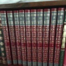 Enciclopedias de segunda mano: HISTORIA DEL ARTE, PIJOAN. ENCICLOPEDIA COMPLETA EN 10 TOMOS. SALVAT, 1970. Lote 153795942