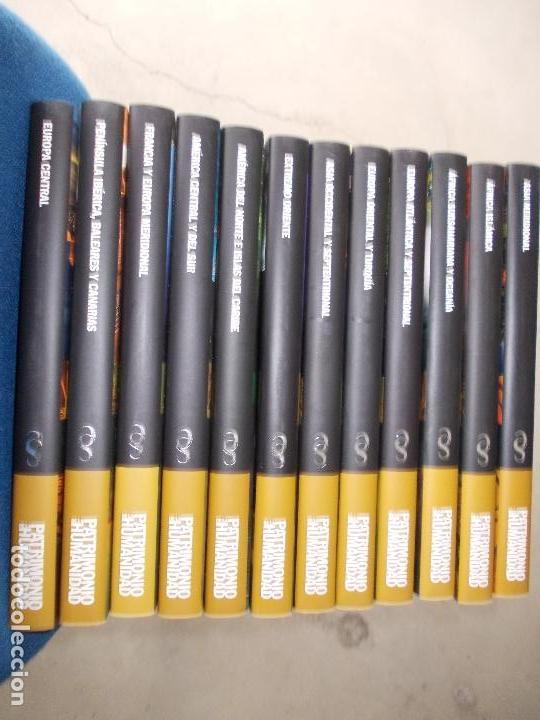 Enciclopedias de segunda mano: Biblioteca Patrimonio de la Humanidad 12 tomos certificado gratis - Foto 2 - 154130994