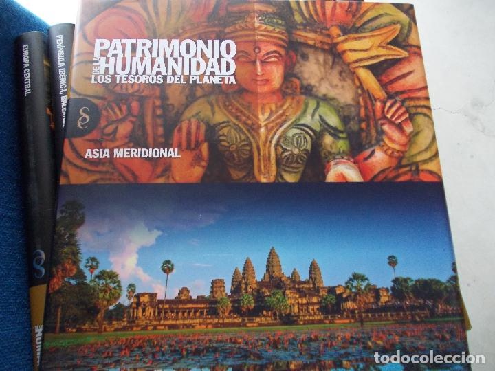Enciclopedias de segunda mano: Biblioteca Patrimonio de la Humanidad 12 tomos certificado gratis - Foto 6 - 154130994