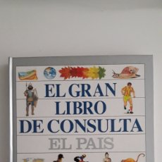 Enciclopedias de segunda mano: EL GRAN LIBRO DE CONSULTA. EL PAÍS. Lote 154754333